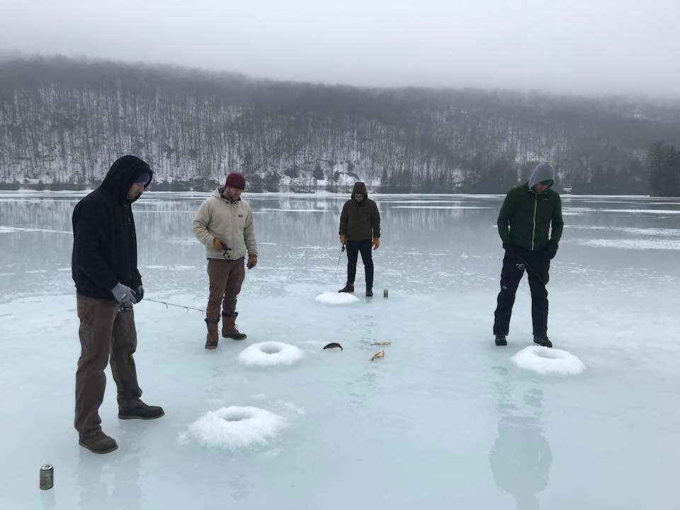 March 30, 2019: High School Friends Caught VT Bass Fish 2