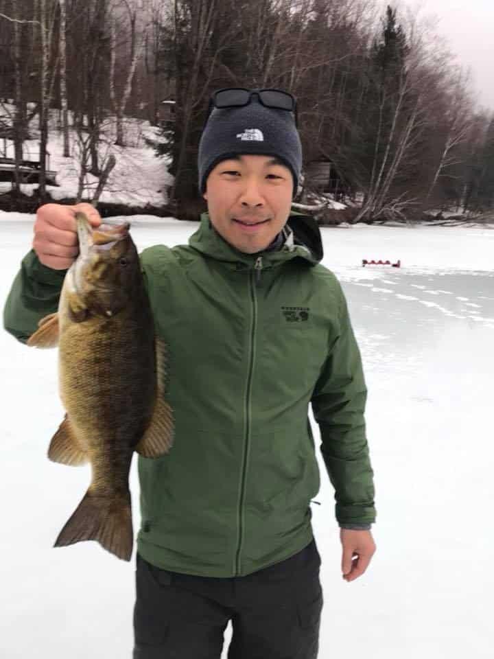March 30, 2019: High School Friends Caught VT Bass Fish 6